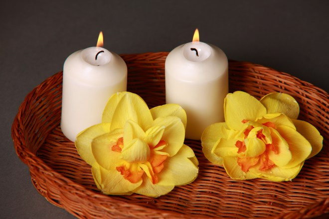 aromatherapy, bamboo, basket