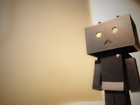 Danbo Cardboard Box Robot How to forget someone you love