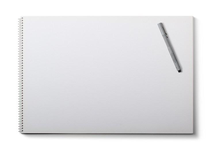 White Drawing Pad