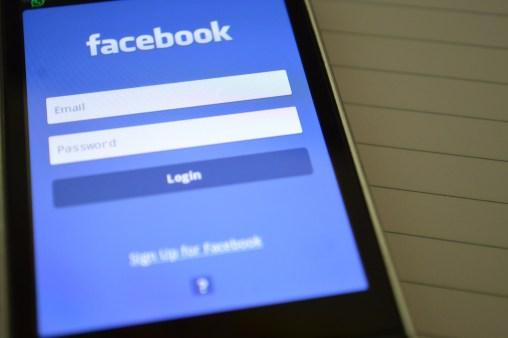 facebook, internet, login