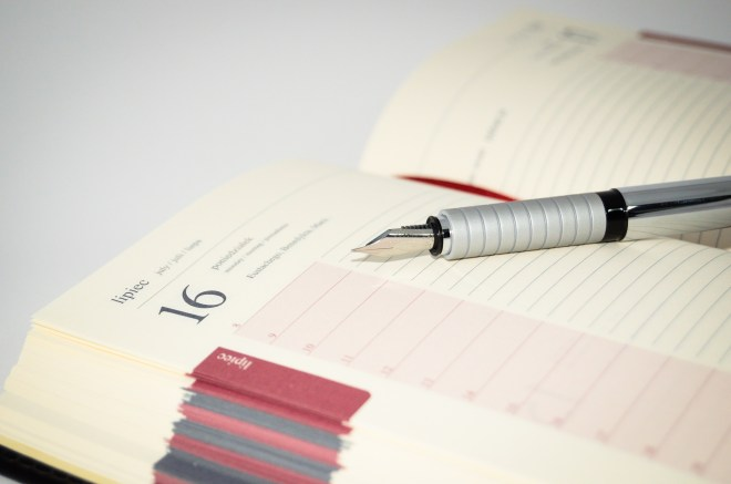 agenda, book, business