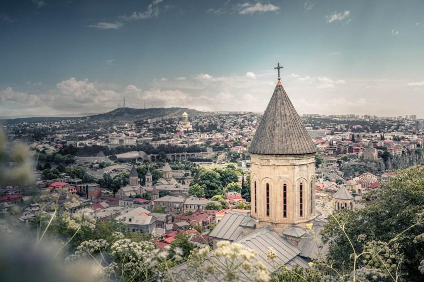 Gündüz şehrin Manzaralı Fotoğrafı
