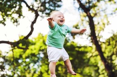 La joie de l'enfant