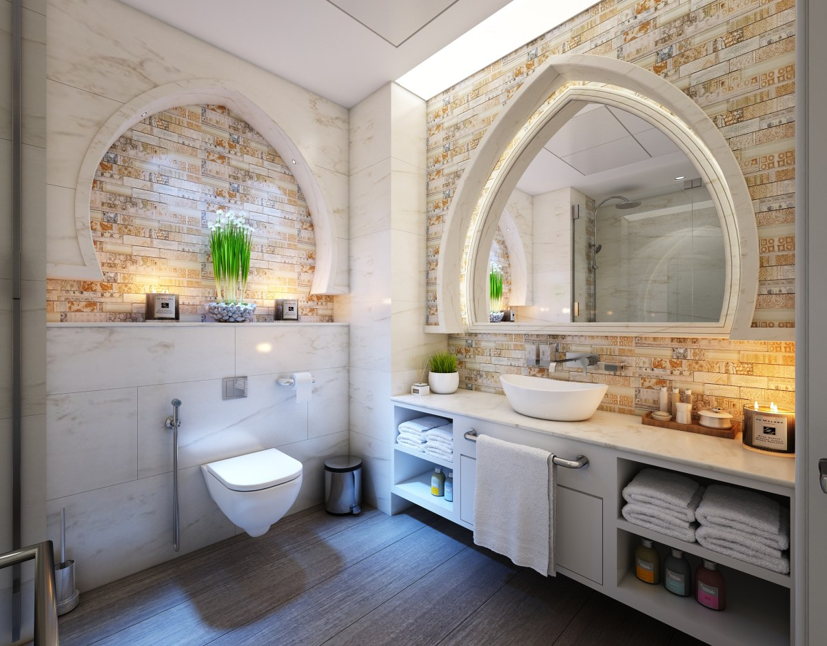 Free stock photo of house, luxury, inside, tiles