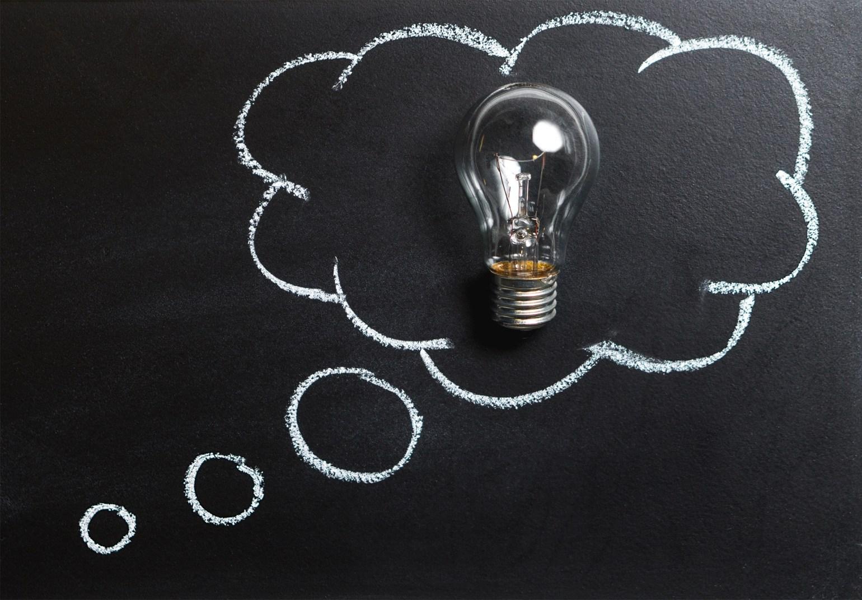 analysis blackboard board bubble