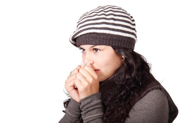 Woman Wearing Beanie