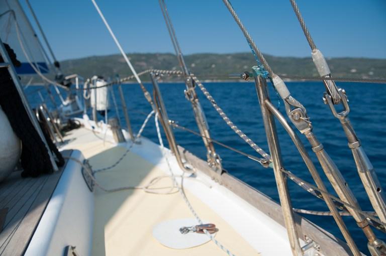 boat, greece, nautical