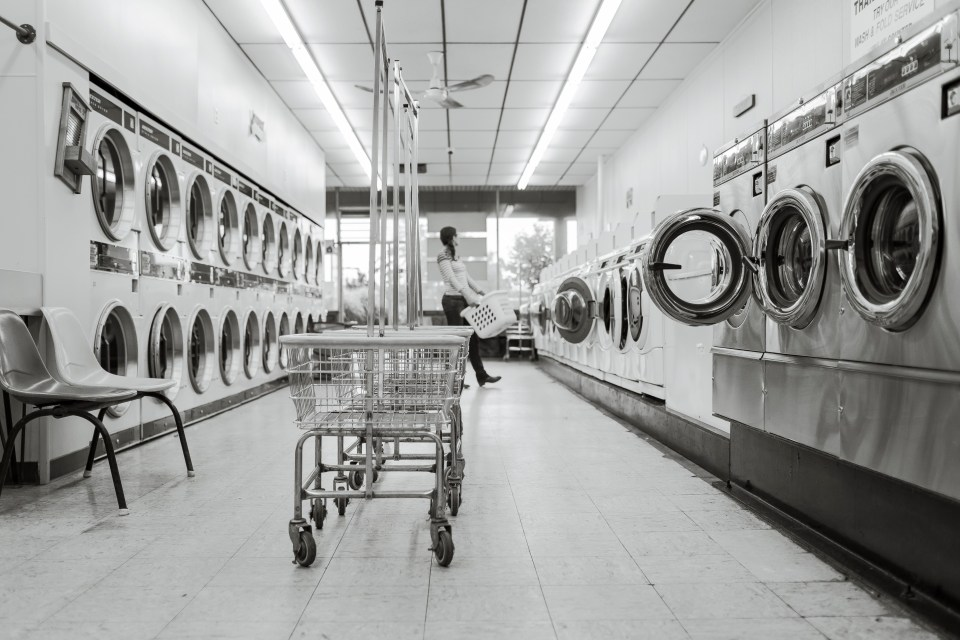 black-and-white, clean, cleaning