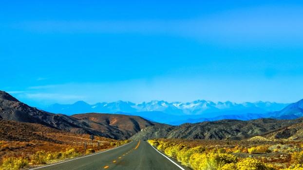 Foto de archivo libre de camino, paisaje, naturaleza, cielo