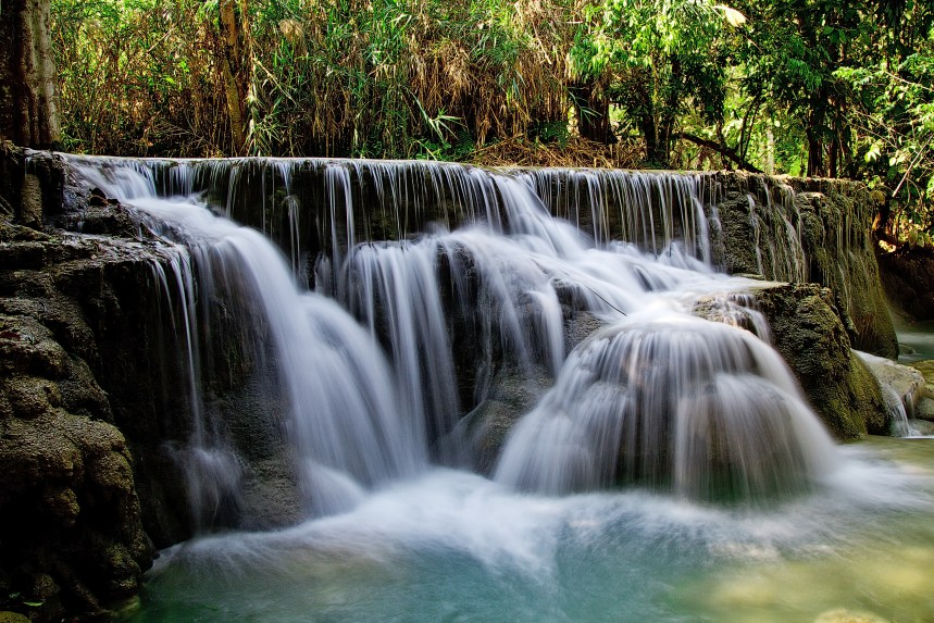 Free stock photo of nature, water, stream, long-exposure