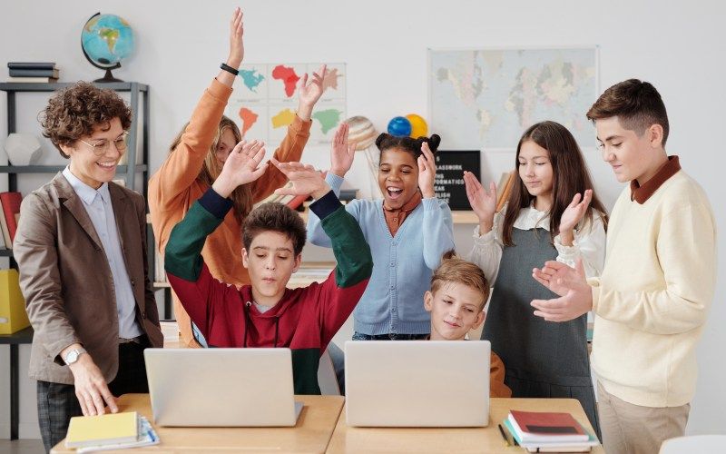 students-happy
