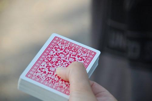 blur, cards, close-up