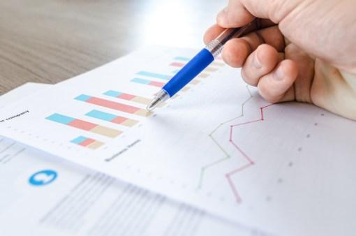 chart, close -up, data