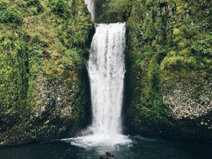 Landscape Photography of Waterfall