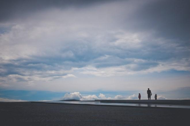 children, clouds, daylight