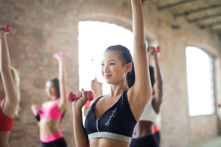 Fitness may be a personal cure for cancer, but there's more and less visible.
