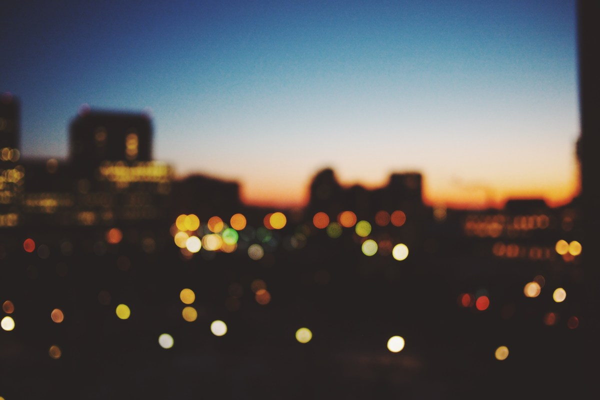 Free stock photo of city, lights, night, dark