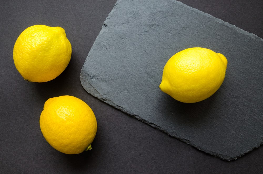 Three Yellow Citrus