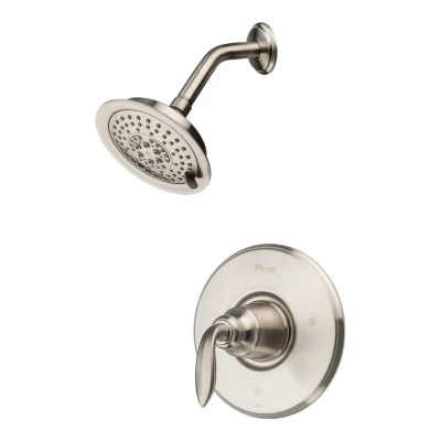 Brushed Nickel Avalon Lg89 7cbk 1 Handle Shower Only Trim