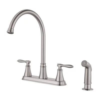 2 handle kitchen faucet pfister faucets
