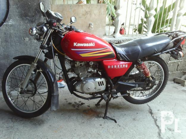 Motorcycle Tricycle Kawasaki 125 4 Stroke Mola Look