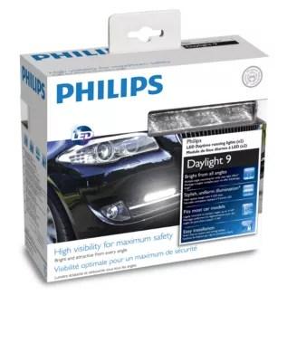 DayLight 9 Feux de jour LED 12831WLEDX1 | Philips