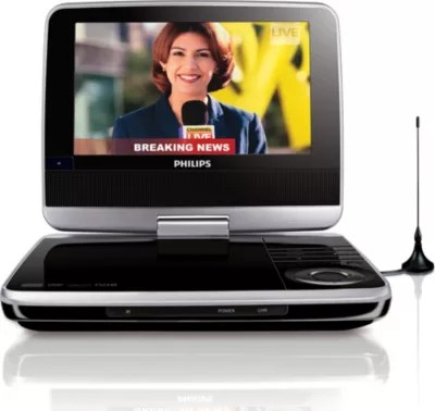 lecteur de dvd portable pet745 12 philips