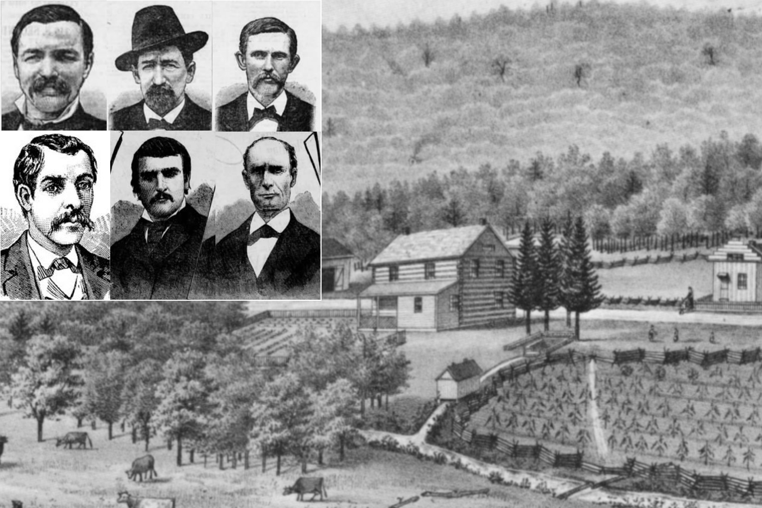 The true crime story that made Lebanon famous around the world: The Blue-Eyed Six, plotters of a murder 140 years ago