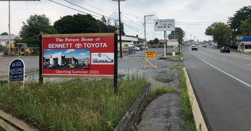 Bennett Toyota Of Lebanon Toyota Dealer Used Cars Lebanon Pa >> Bennett Toyota Of Lebanon Will Move To Route 422 With 30 000