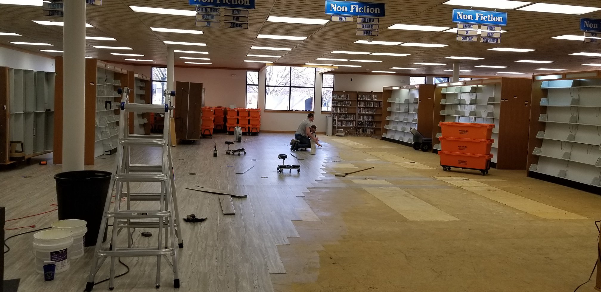 Lebanon library to remain closed next week as flooring replacement continues
