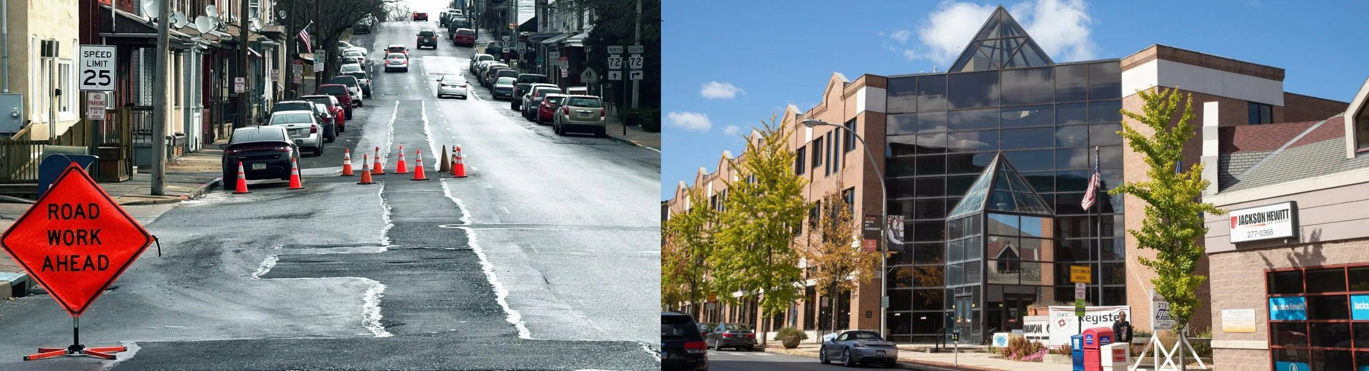 Walnut St. work on track; owners must fix curbs; no news on City move to HACC