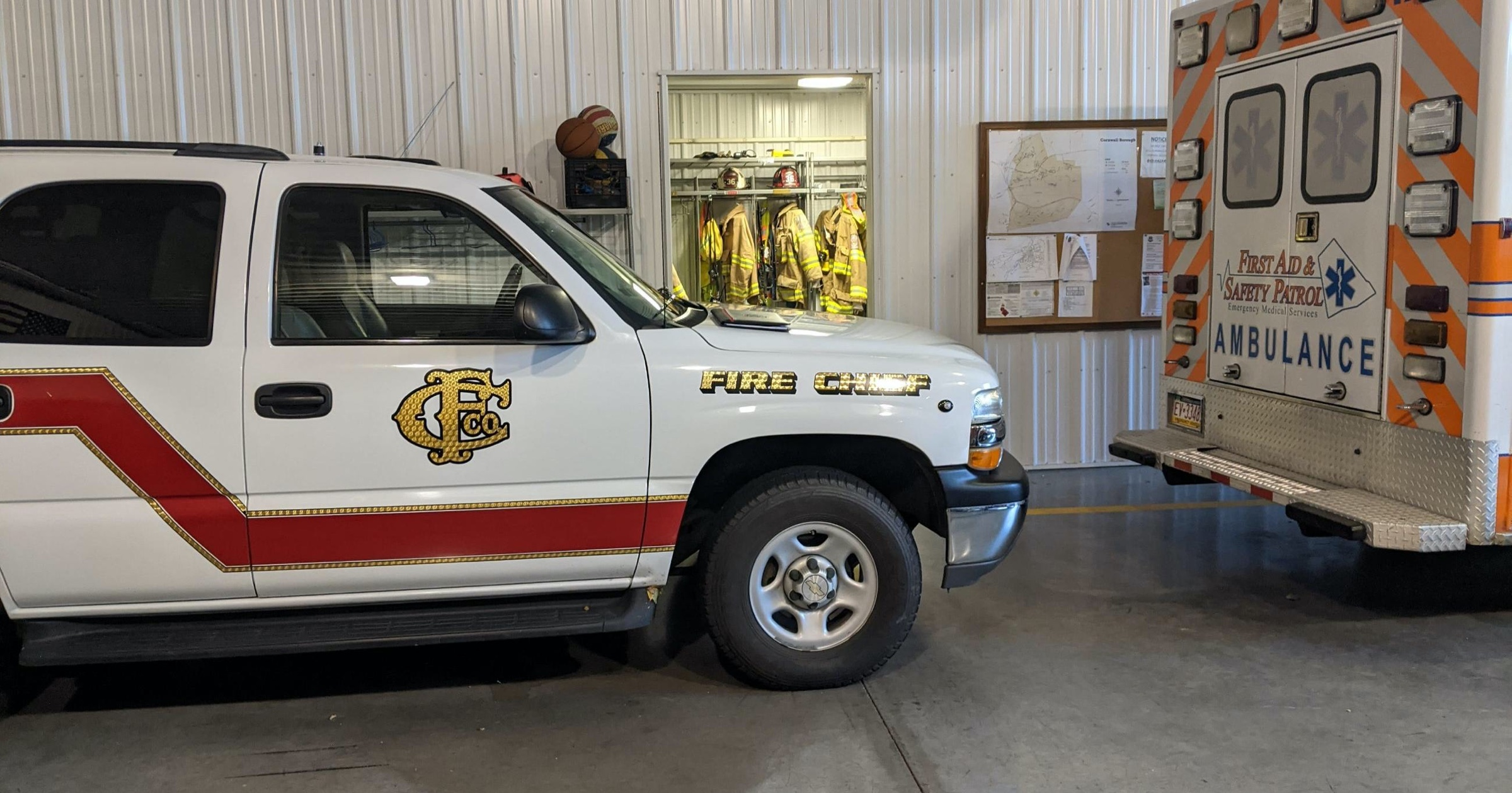 FASP signs agreement with Cornwall Borough & Community Fire Company to expand area ambulance coverage