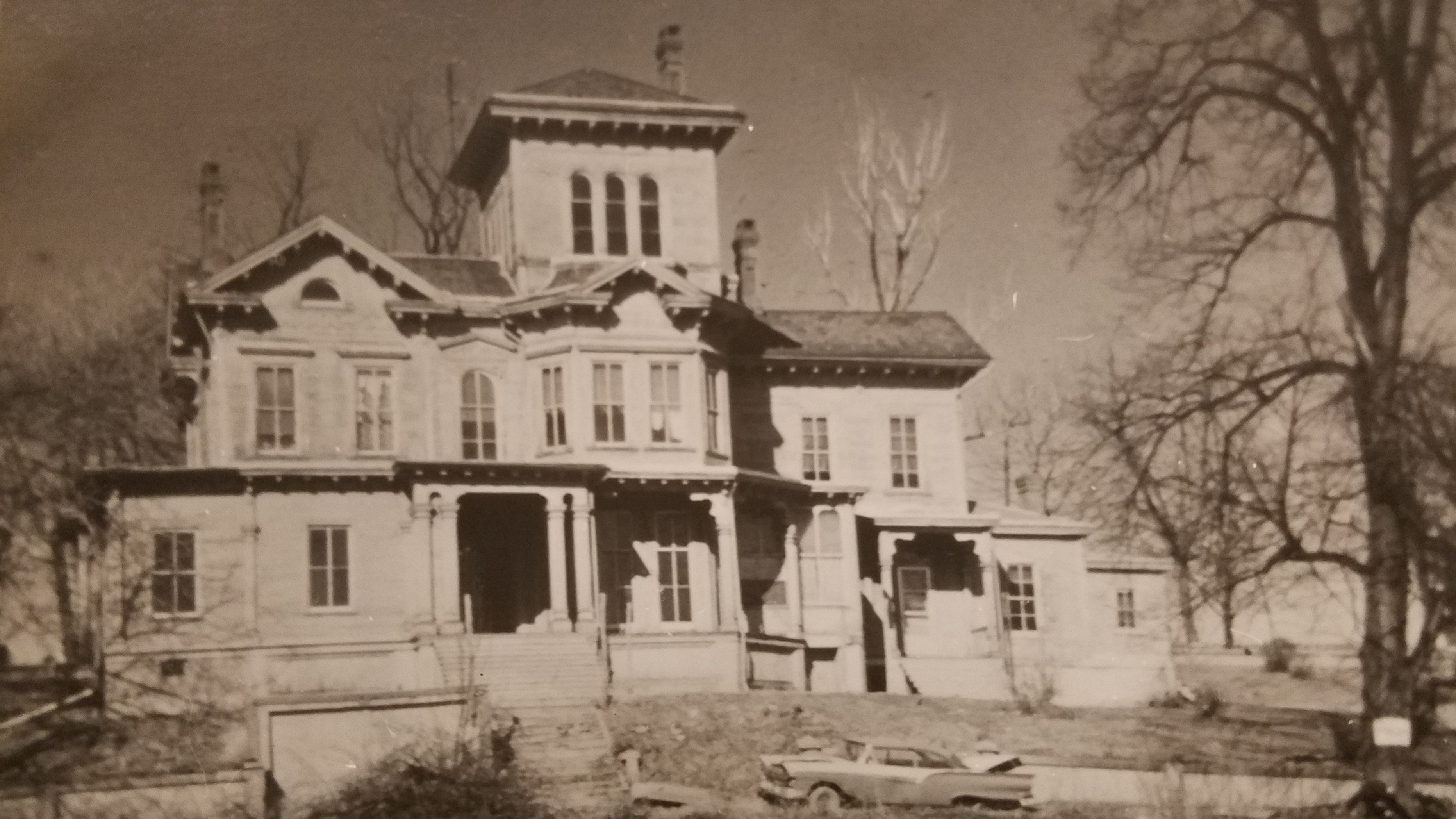 Do you remember the mansion on Maple Street?