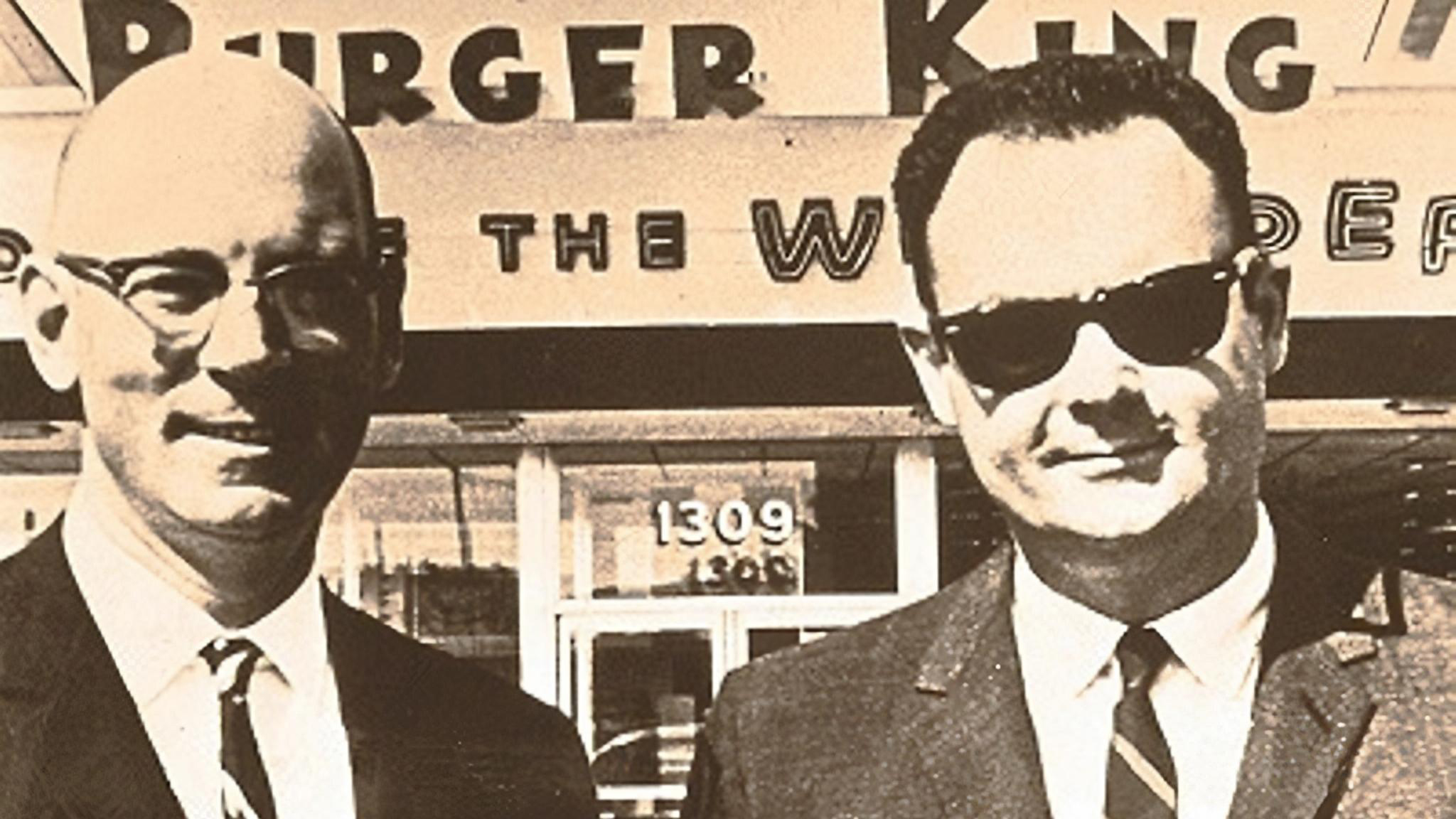 "As Burger King rebrands, we recall Lebanon-born cofounder David Edgerton, drawer of original ""king"" logo"
