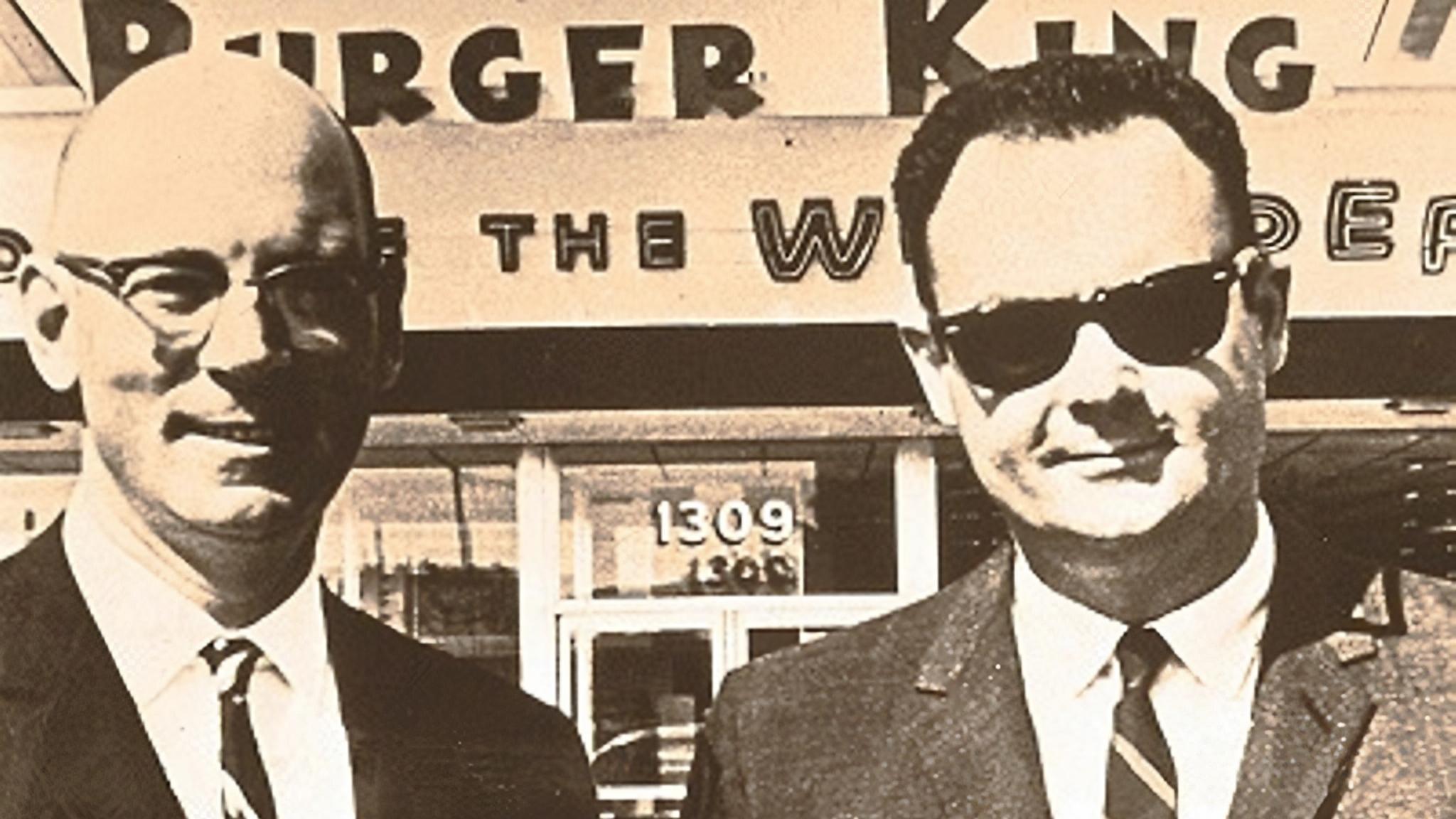 """As Burger King rebrands, we recall Lebanon-born cofounder David Edgerton, drawer of original """"king"""" logo"""