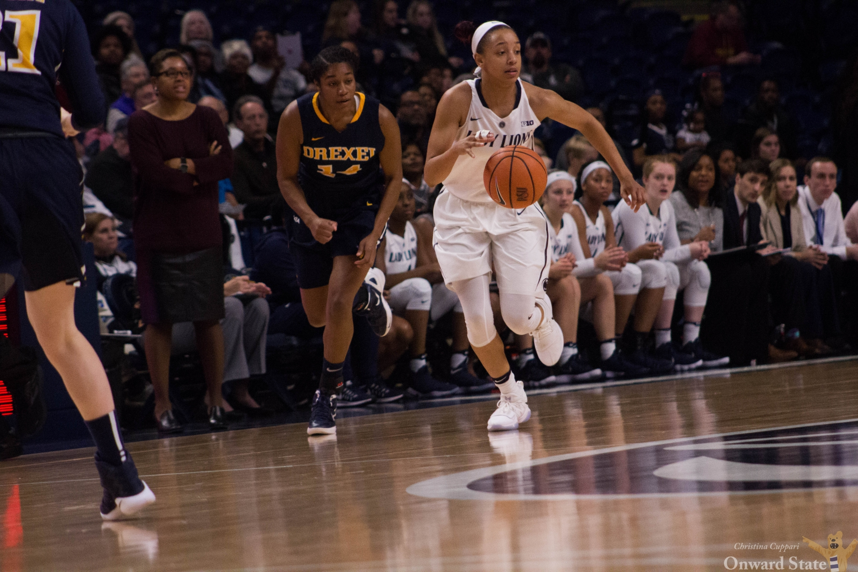 Penn State women's basketball's late rally falls short against Iowa