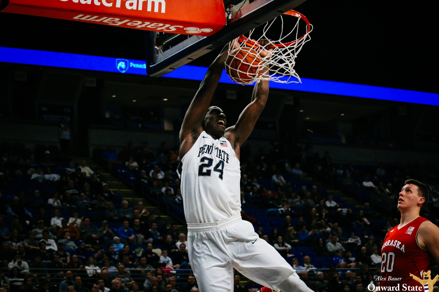 Mike Watkins to miss Penn State men's basketball's game against Nebraska