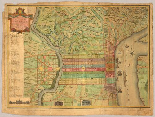 Best map of Philly in the Rumsey collection
