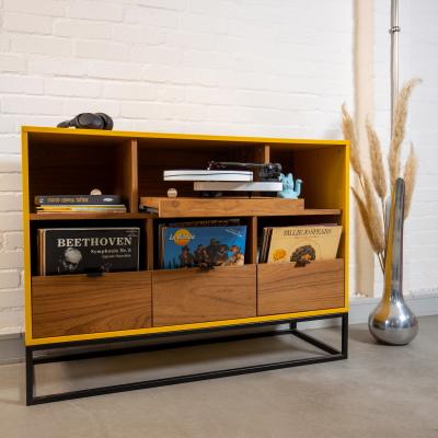meuble de rangement vinyles sur mesure