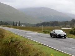Scottish roads a brutal test of chassis set-up