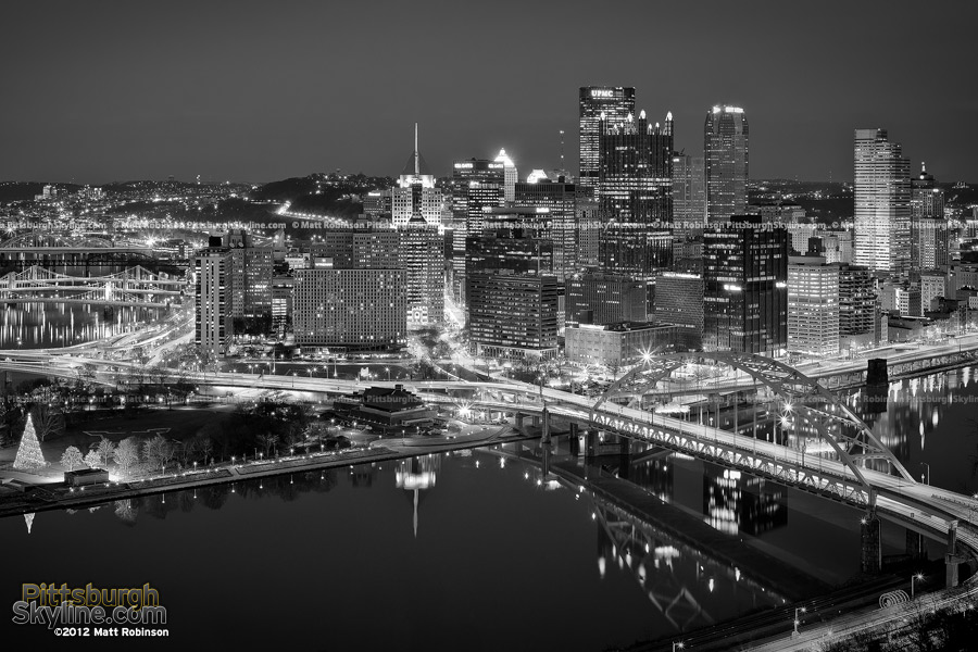 Pittsburgh in Black and White