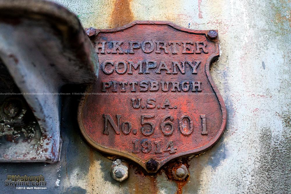 H.K. Porter Pittsburgh Steam Locomotive Emblem