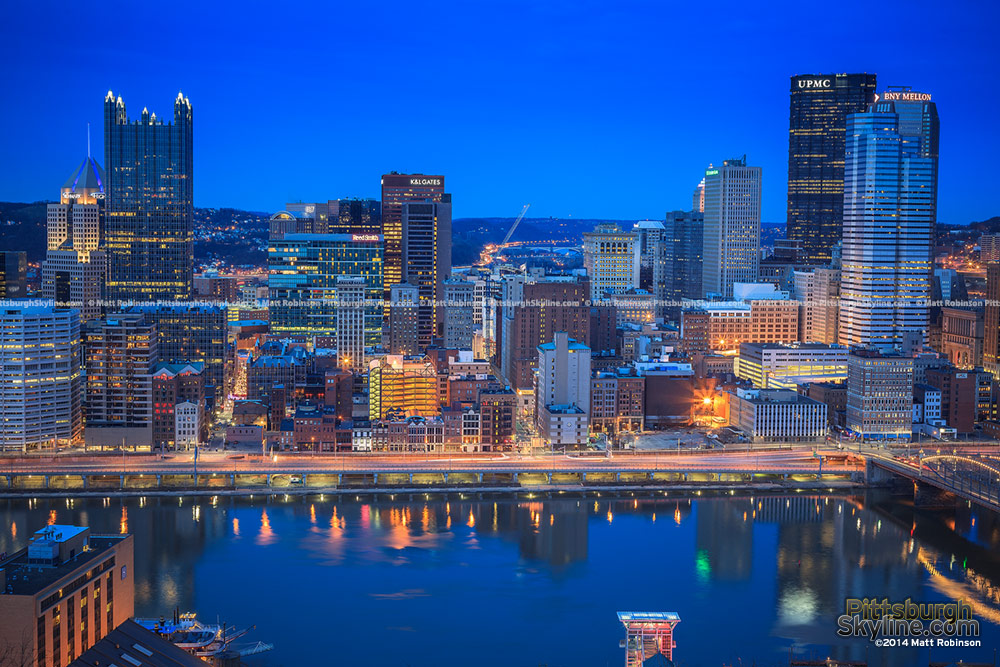 Pittsburgh from Mt. Washington 2014