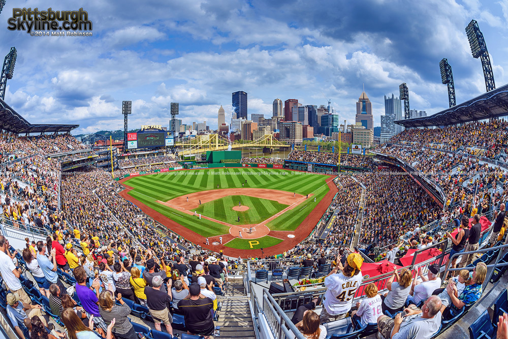 Summer day game at PNC Park