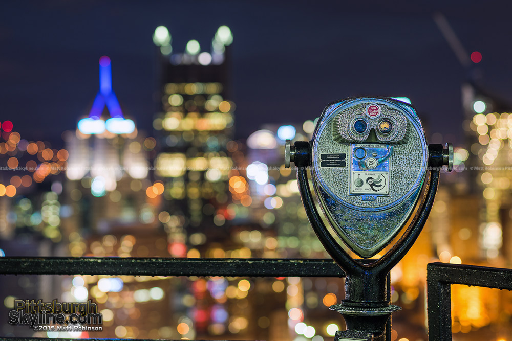 Pittsburgh unfocused with viewpoint