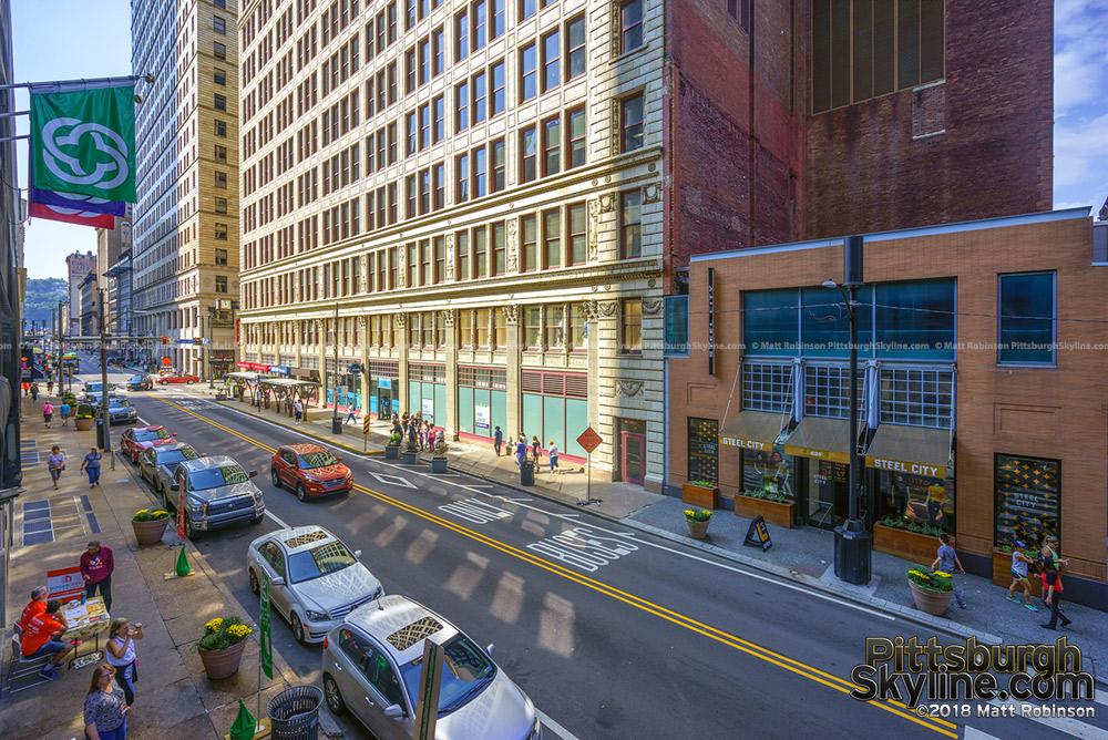 Smithfield Street in Downtown Pittsburgh