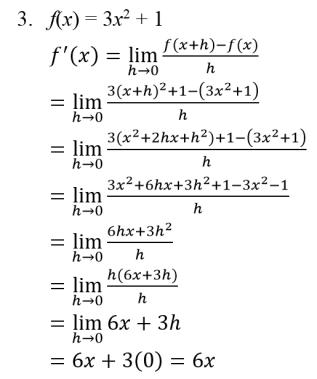 Turunan Pembahasan Dan Contoh Soal Matematika