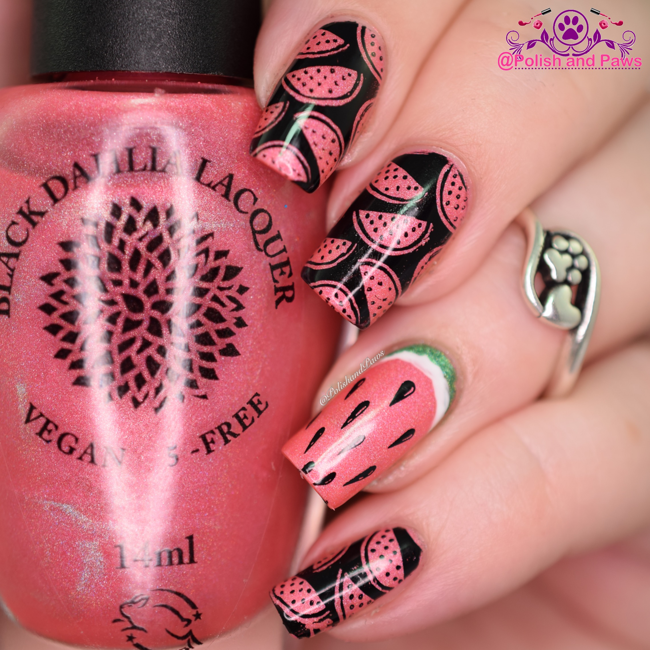 Black Dahlia Lacquer Watermelon Punch