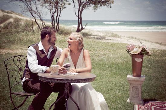 Annie and Buff's Intimate Seaside Wedding