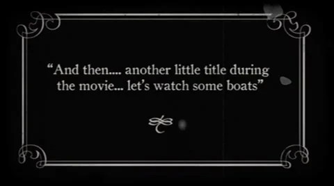 Silent Movie FX Title Cards After Effects 7745595